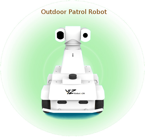 Outdoor Patrol Robot